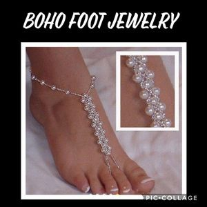 Accessories - Boho Faux Pearl Foot Jewelry